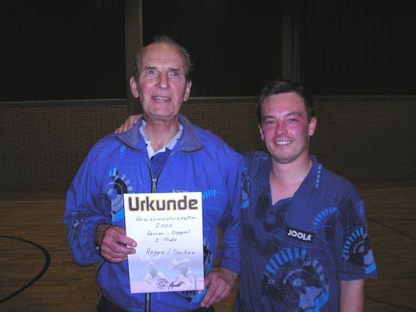 2. Platz  Gerhard Hoppe/Thilo Dechau