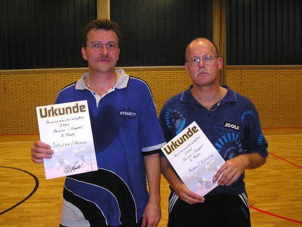 3. Platz Hans Schulze/Reinhold Hasse