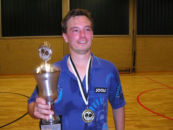 Vereinsmeister 2005 Thilo Dechau