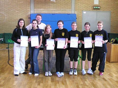 1.-4. Platz Schülerinnen